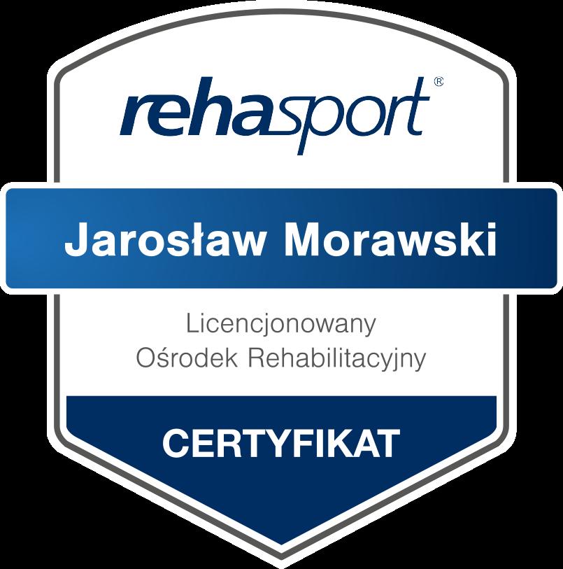 certyfikat rehasport